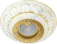 FD1020ROP- Fede Светильник CORDOBA CRYSTAL DE LUXE, Gold White Patina